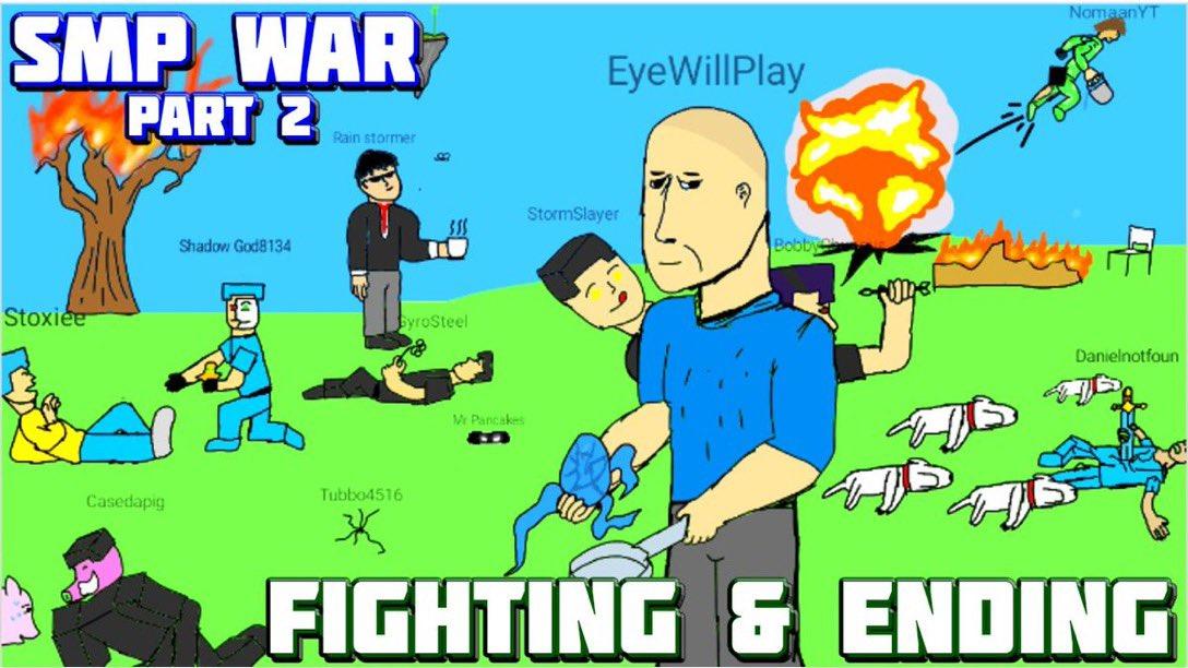 SMP WAR - Part 2 - FIGHTING and ENDING  Watch @   @SmallStreamersR @WoogieRetweets @DripRT @ImUnamused #waveformgaming @exacutorz @WaveformRTs #youtube #gaming #Minecraft #SMPWar #Dream #dreamsmp @Dream #war