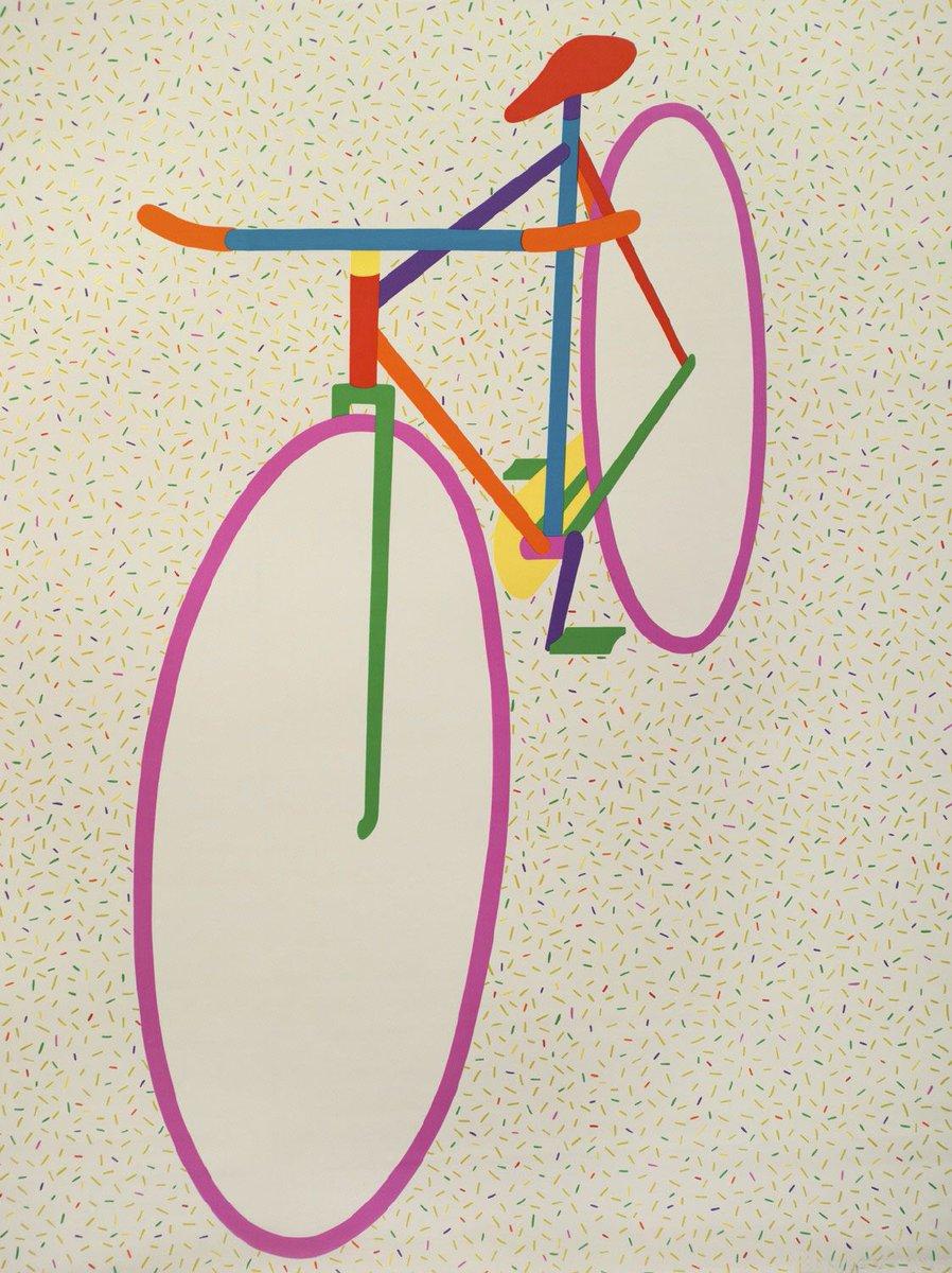 La bici me permite volver a mis orígenes y a una vida más sencilla. Art: Hiroshi Awatsuji 🚲🚲👏🏽