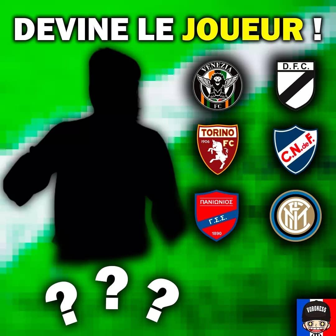 [QUIZ TIME] ⏳  De quel joueur s'agit il ⁉️  #football #quiz
