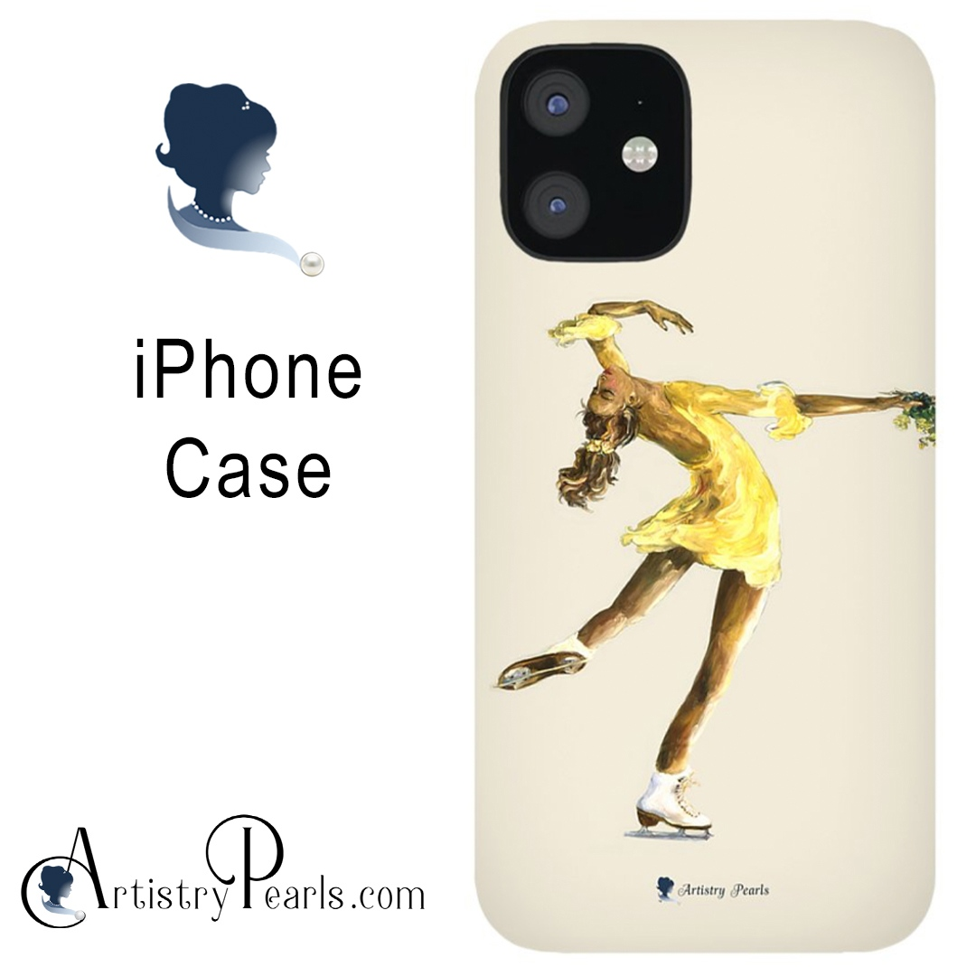 Lay Back Spin   iPhone Case   Find it Here:    #iphonecase #apple #mobilecase #iphone #cellphonecase #figureskating #figureskater #iceskating #patinageartistique #skate #artistic #art