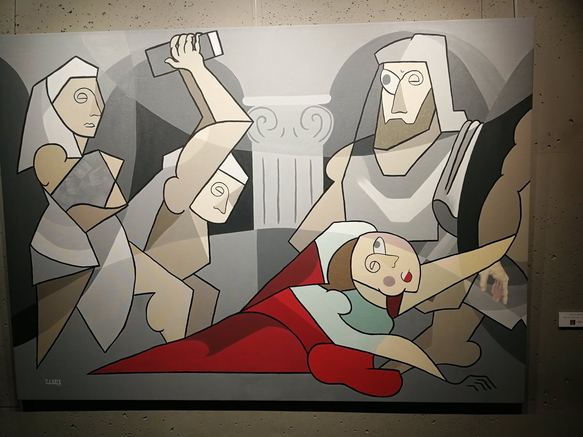 Hypatias Tod #postcubismo #kunst #art @JCarpe_Art