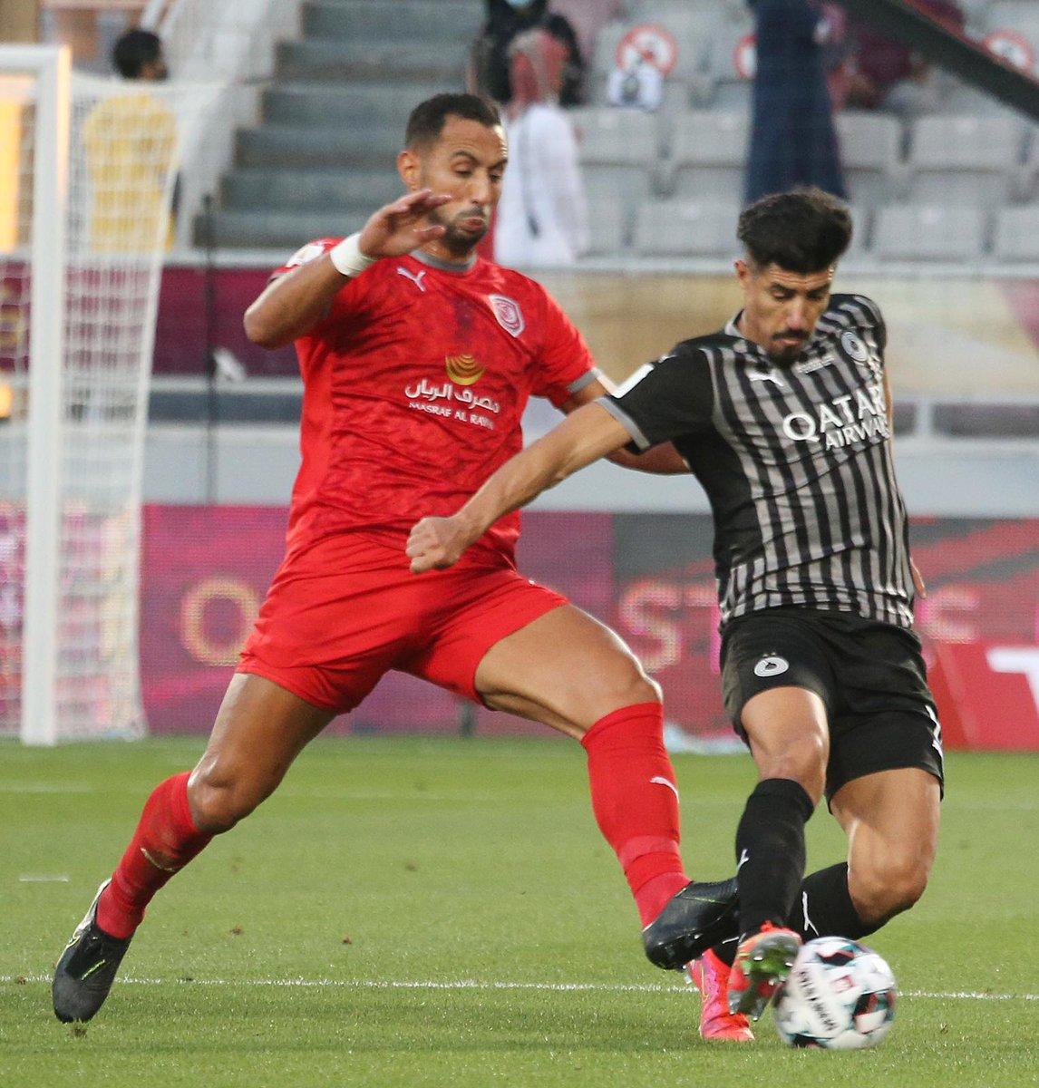 اختيار بغداد بونجاح أفضل لاعب في المباراة النهائية لبطولة  كأس قطر2021 السد الدحيل كأس قطر