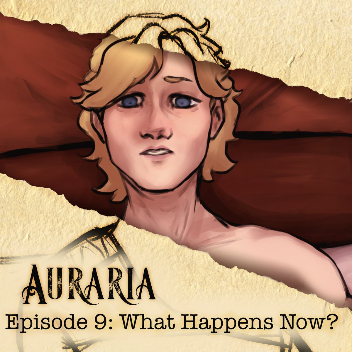 ⚜️AURARIA UPDATE⚜️ EPISODE 9 is now up on Webtoon! Read the update HERE: tinyurl.com/AurariaComic - Aurie opens his eyes. He's got questions. . { #webtoon #webcomic #auraria } Read my webcomic today, Pokémon day!
