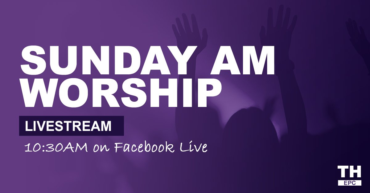 Join our Sunday morning worship livestream on Facebook:    #EPCYakima #Livestream #SundayMorning #Worship