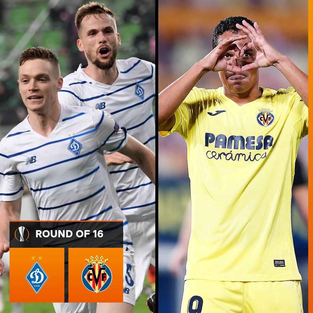 🇺🇦 Dynamo Kyiv vs Villarreal 🇪🇸  ________ will progress   #UELdraw https://t.co/ygSReAL60H