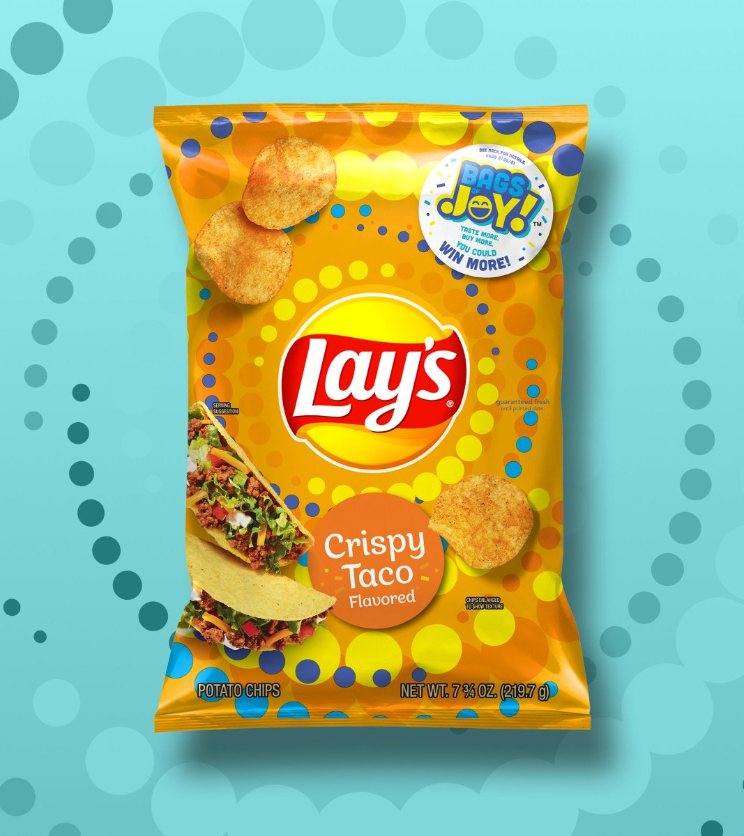 They're BAAAAACK: Lay's Crispy Taco and Kettle Cooked Flamin' Hot Limón. Comment a 🌮 or 🔥 below and we may send you a bag of your own!