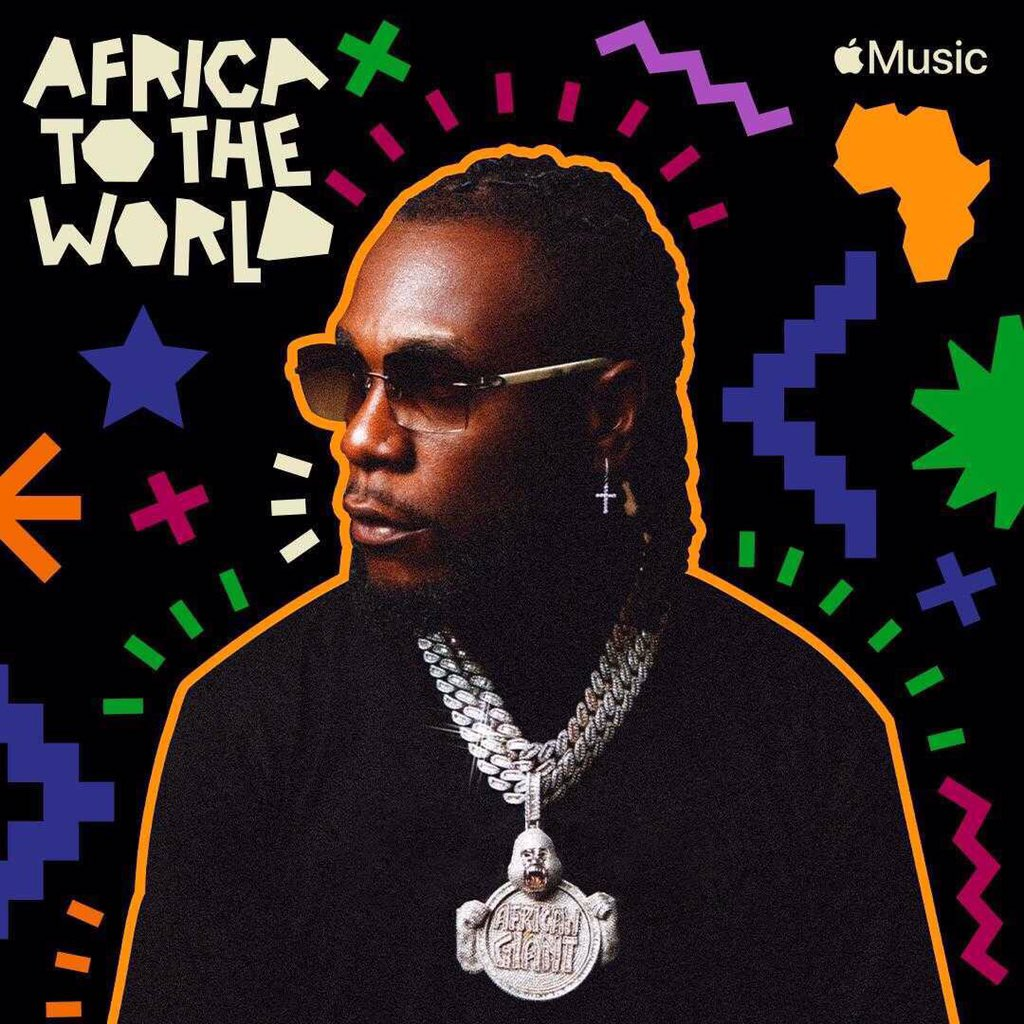 "@burnaboy graces the cover of @AppleMusic ""Africa to the World"" playlist with his song Real Life ft Stormzy from the Twice As Tall album as number 1.   Click the link to listen to the playlist:   #BurnaBoy #Reallife #BukiHQMedia"