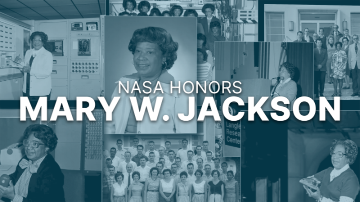 Happening today at 1 p.m. ET: NASA will unveil the Mary W. Jackson Headquarters Building. Acting NASA Administrator Steve Jurczyk will lead the ceremony that officially names the building in honor of the first African American female engineer at NASA >>