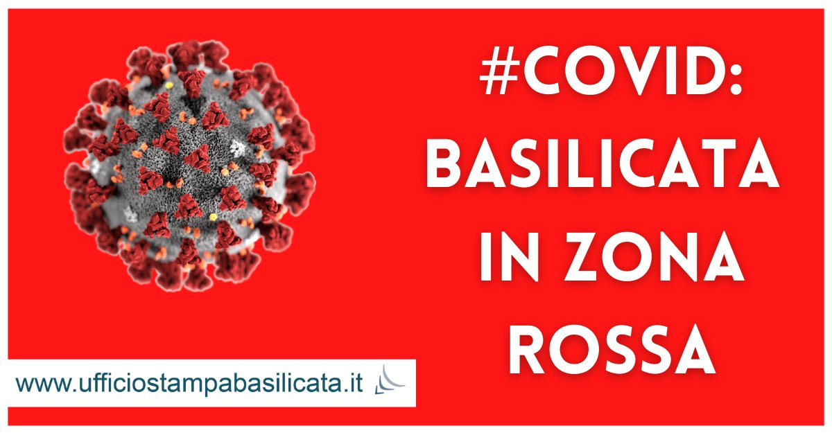 #COVID | La Basilicata passa in zona rossa   https...