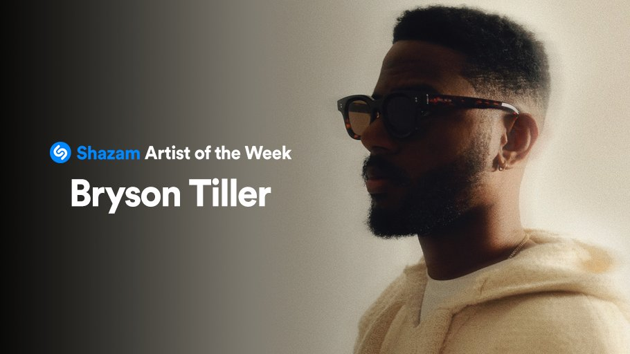 Celebrating @brysontiller as our Artist of the Week! Stream the deluxe edition of 'A N N I V E R S A R Y' and his most Shazamed songs on @AppleMusic:  🎉