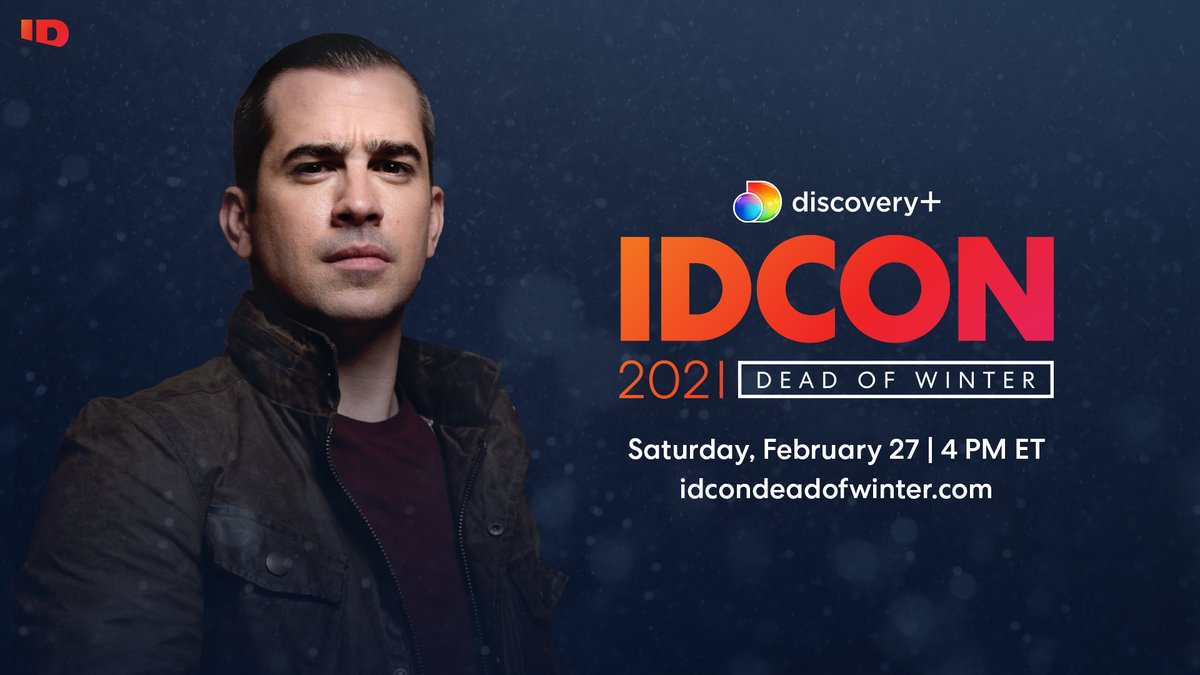 Want a look at the behind-the-scenes of your favorite true crime shows this weekend? Register now for #IDCON: DEAD OF WINTER and get a sneak peek at my new special In Pursuit: The Missing. #TeamInPursuit