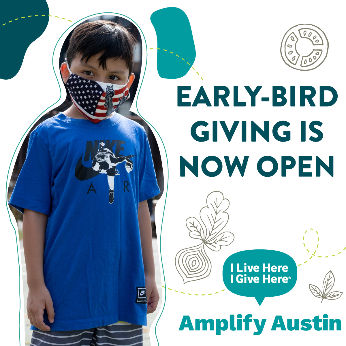 Last year the Food Bank served a record number of Central Texans, and the struggle isn't over yet. We need your help to meet the rising need. When you make your @ILH_IGH Amplify Austin gift early, your donation will be MATCHED up to $10K. $1=$2! Donate at