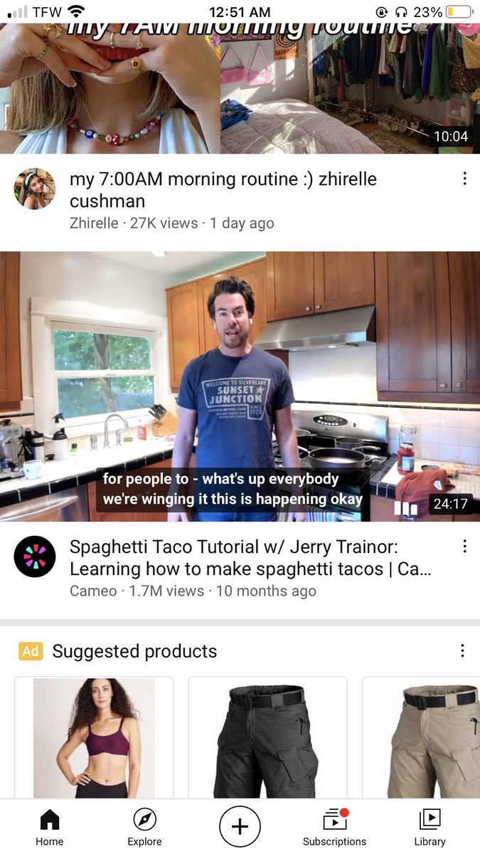 would u follow jerry trainors  spaghetti taco recipe? #AskSinjin