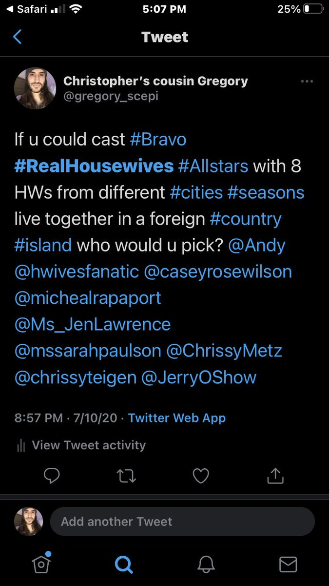 I'm kind of in shock rn. I literally came up with this 8 months ago! 😵 #RealHousewives #bravo #WWHL