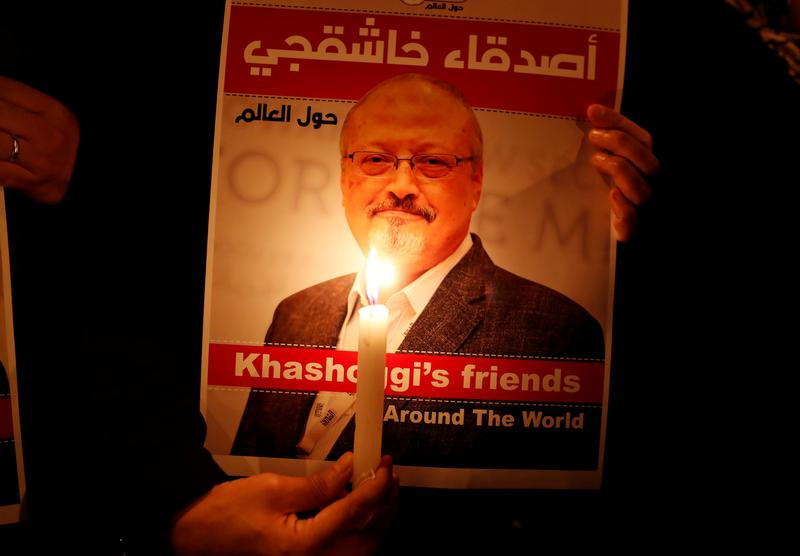 U.S. imposes sanctions, visa bans on Saudis for journalist Khashoggi's killing