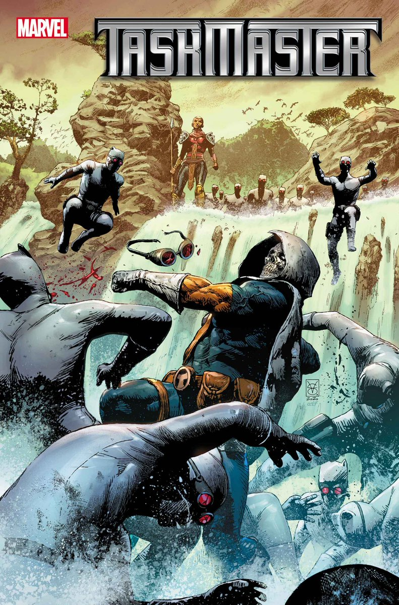 Taskmaster is on a violent journey across the planet to prevent a disaster of global proportions! Where will his quest take him next? Preview the next two #MarvelComics issues now: