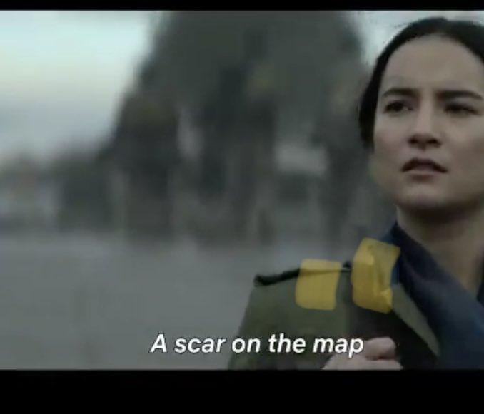 A SCAR ON THE MAP #shadowandbone