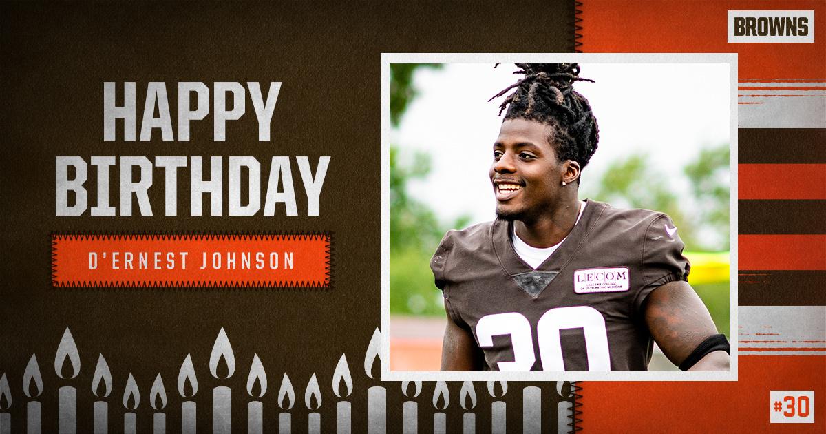 RT to wish @DernestJohnson2 a Happy Birthday! 🥳