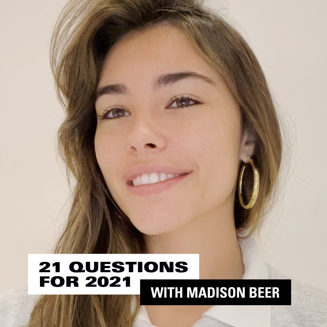 Did you know @madisonbeer used to have a @rihanna fan account?? 👀  Madison answered 21 of our ~hottest~ questions! Check out her answers. 👇
