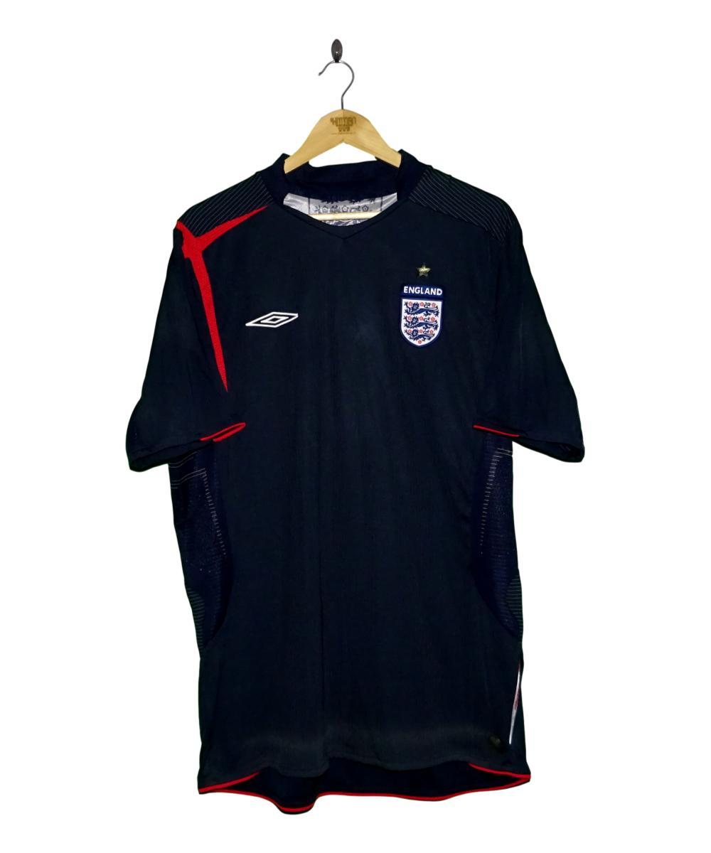 Checkout this 2005-07 England Goalkeeper Shirt (XL)!  Buy Now at    Free UK P&P!   #2005-07 #England #GKUnion #Goalkeeper #ThreeLions #Umbro #TheKitman