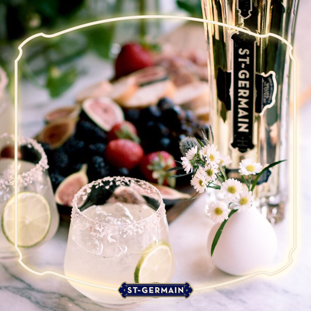Show us how you crowned your Margaritas with elderflowers this past #NationalMargaritaDay! #MakeTheMomentBloom #StGermainDrinks