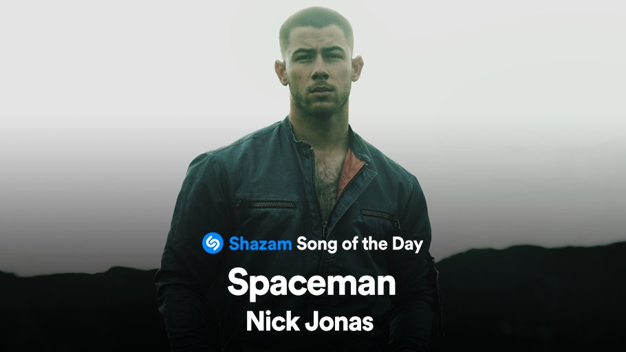 #Spaceman by @nickjonas is out now!! Stream our Song of the Day on @AppleMusic:  🚀