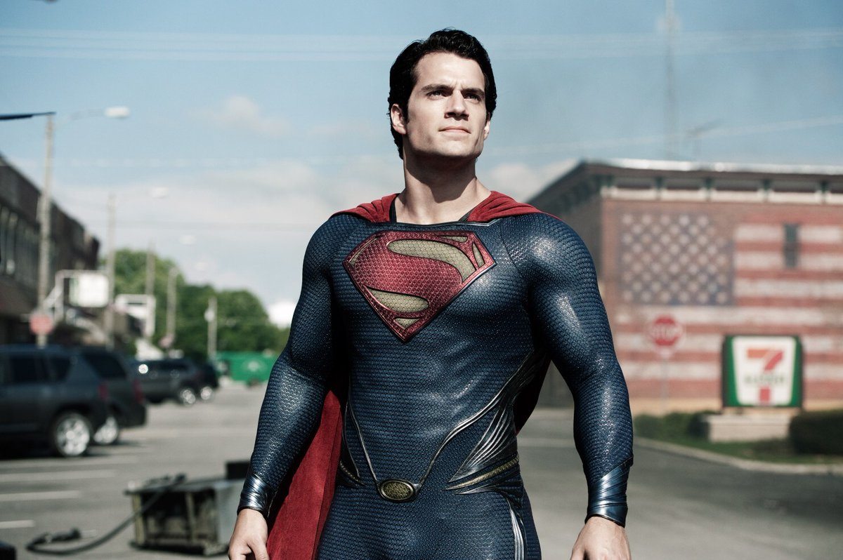 Replying to @Itssan17: OUR SUPERMAN IS HENRY CAVILL ♥️💪  #RestoreTheSnyderVerse