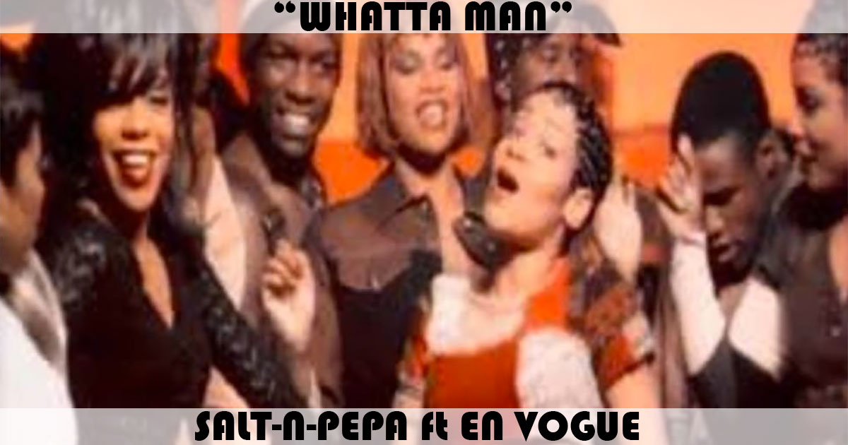 "The highest-charting single for #SaltNPepa was ""Whatta Man"" featuring #EnVogue. It peaked at #3 on this day in 1994. #90sMusic #ChartHistory"