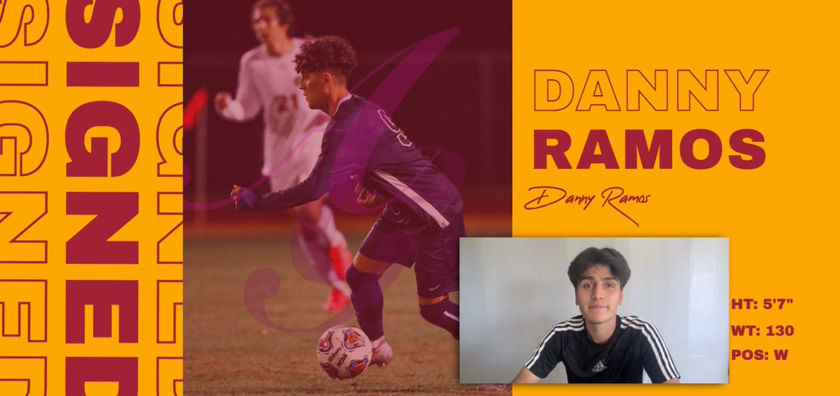 COMMITTED ⚽️  @bucs_msoccer has signed Danny Ramos to their 2021 recruiting class!  Welcome aboard, @dannyyrramos! 🏴☠️