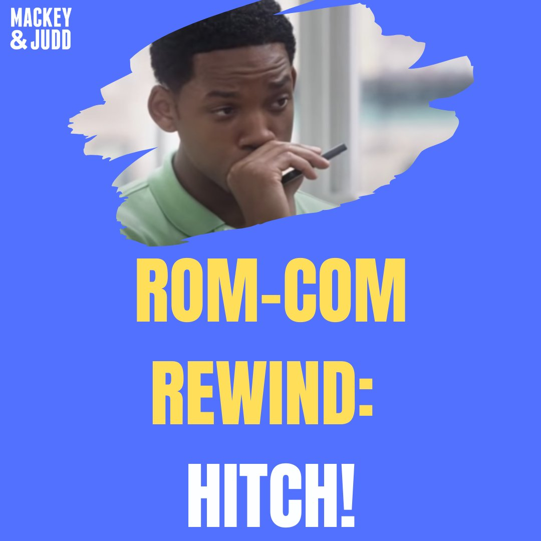 HAPPY FRIDAY: Find our Rom Com Rewind of Hitch on Mackey & Judd wherever you get your podcasts.  🔊:   🍎:   🎧 :