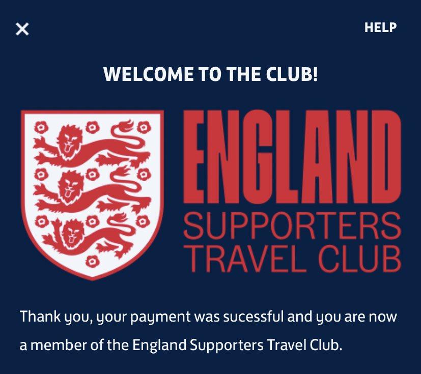 We go again @England 🏴⚽️💪   #FollowEnglandAway #ThreeLions 🦁