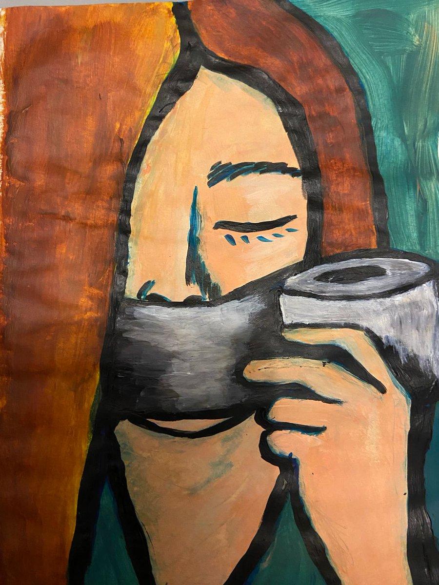 #FF #FeminstFriday Law of Silence Encourages Rape Culture #MeToo #metooinceste #MetooAmnesie acrylic sketch @mag_tranchant