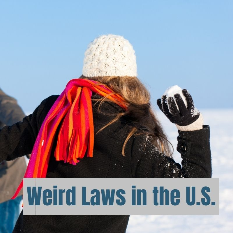 DYK: In Severance, Colorado, it was illegal to throw snowballs until 2019. #WeirdLaws #SnowballFight