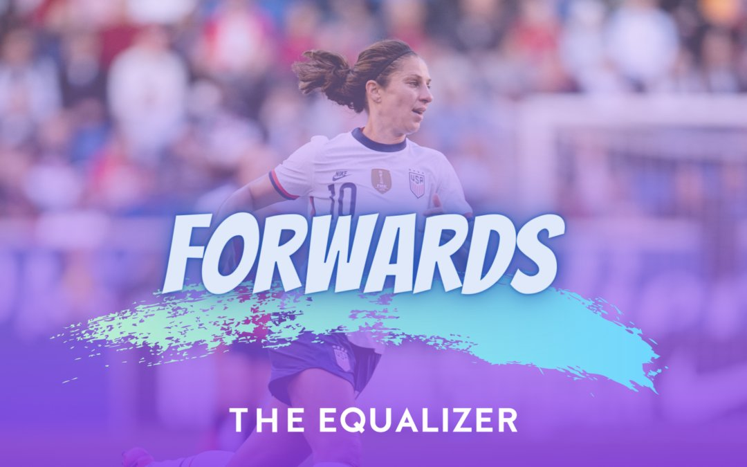 """""""I've just had to kind of evolve my game over the years.""""  In our """"Forwards"""" series, @JeffKassouf takes a look at Carli Lloyd, the forward with the mind of a midfielder.  ➡️:"""