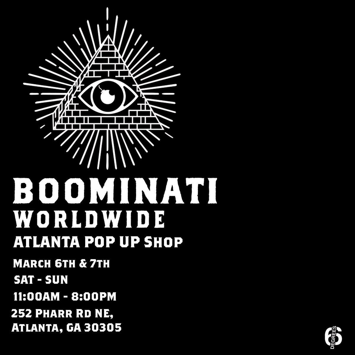 Boominati All-Star weekend come thru the pop up 👁 https://t.co/YKQr4zG9l2