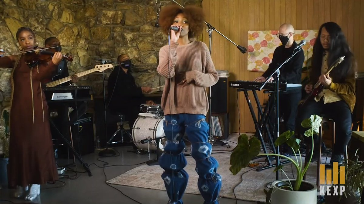 Experimental R&B songstress Liv.e (@oliveosun) brings her 2020 release 'Couldn't Wait to Tell You...' to life with a full band in our latest Live on KEXP at Home performance. Ease into your Friday with the beautiful session hosted by DJ @larrymizelljr.