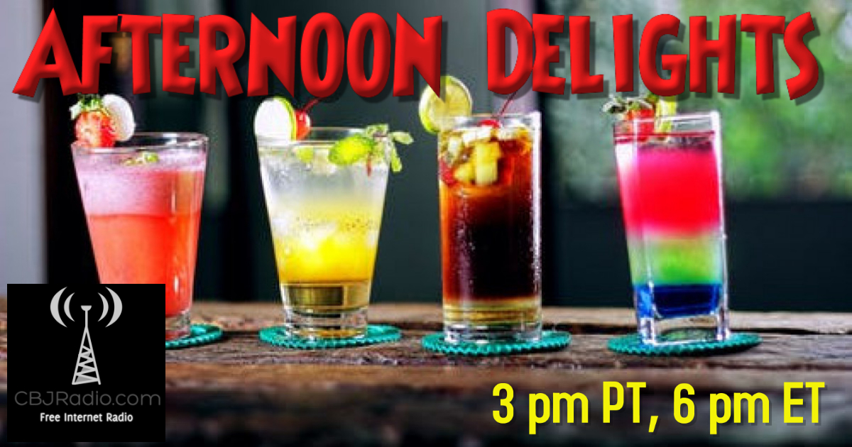 Afternoon Delights start your weekend with 2 hours of NEW music only on ! Today hear @KostasSampanis @TamarBerk @captainkmusic @dawnrix @iamdelyngrey @10GaugeOfficial @salnurrito @MadWetSea @kkittermaster @TimMcGearyMusic @LittleHurt @CranberryMerch2