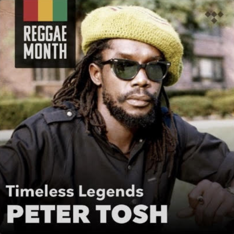 Wah gwaan, Tosh Army? @TIDAL has released a righteous playlist feature on the Prophet, including some background on the legend. Perfect for a Friday light up with your herb, head over and celebrate #ReggaeMonth with the sounds of Peter Tosh:   #PeterTosh