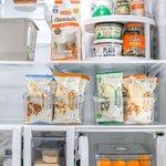 Image for the Tweet beginning: We love this fridge organization