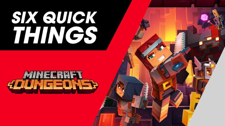 Mojang devs Laura De Llorens & Måns Olson share 6 Quick Things about the cross platform, dungeon-crawling, loot-hoarding action of Minecraft Dungeons (@dungeonsgame) on #NintendoSwitch!   ⚔️ A free update & the Flames of the Nether paid DLC available now: