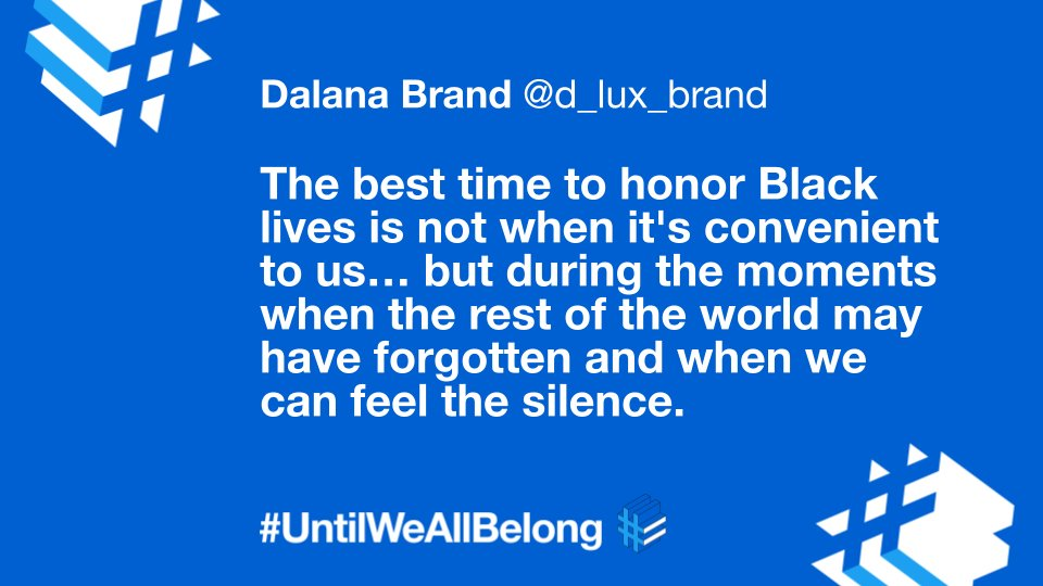 "It's true: ""the tech industry can do more to honor Black lives and elevate Black talent.""  Here are five steps for tech companies in 2021 from Dalana Brand (@d_lux_brand), our VP People Experience and Head of Inclusion & Diversity at @Twitter  👇"