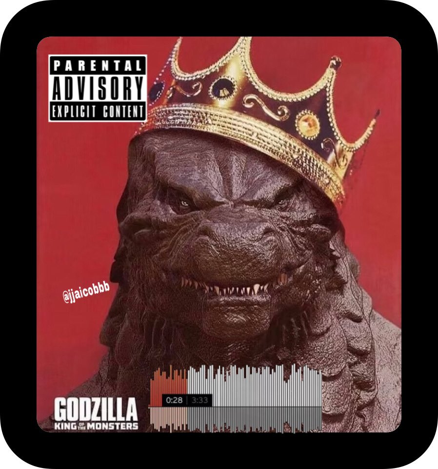 Y'all ready for that diss track? #SoundCloud #8TRACKS #Monsterverse #gojira #monke #kingkong #kingghidorah #Spotify #AppleMusic #hiphop #NewMusicFriday