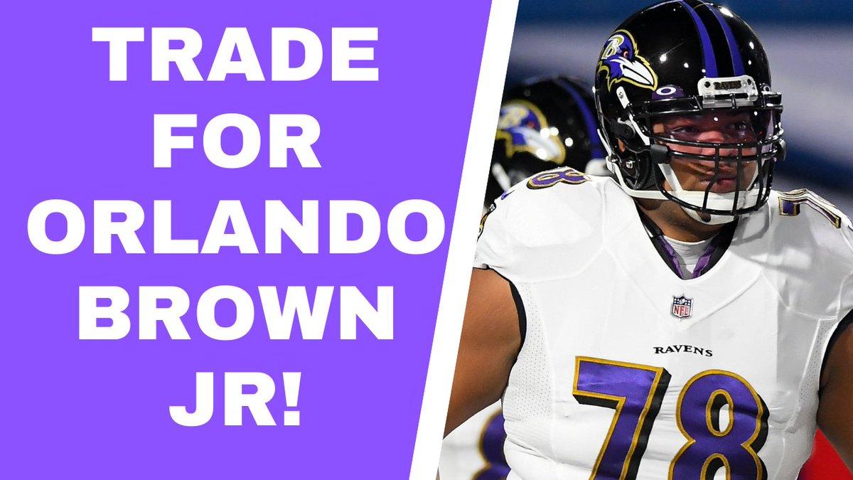 Why Minnesota Vikings should trade for Orlando Brown Jr.   📺:    🍎:    🎧:    🔊:
