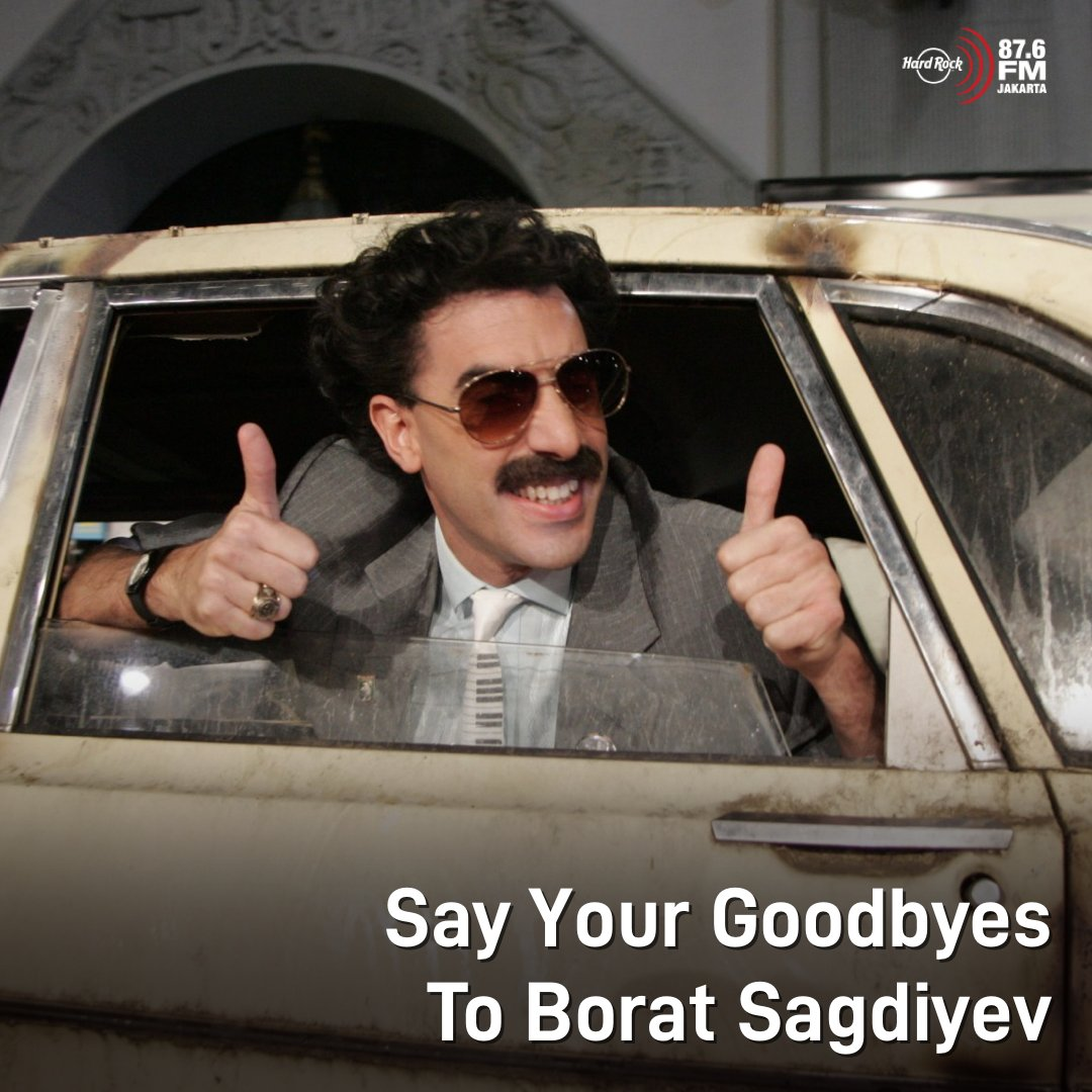 #HRFMNews Film Borat tahun lalu kayaknya akan jadi film Borat yang terakhir.  Sacha Baron Cohen mengungkapkan betapa bahayanya bagi dia untuk memerankan mockumentary ini. Sebahaya apa? Ia pernah harus memakan rompi anti peluru dalam proses shooting Borat!