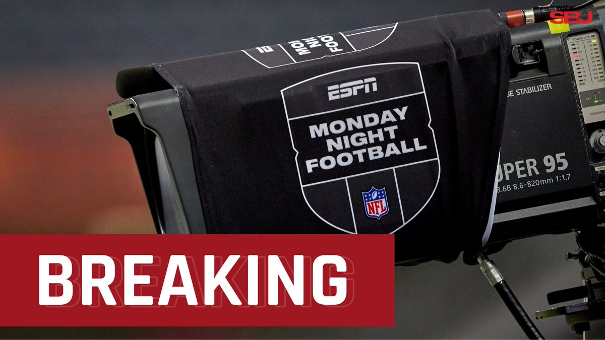"""#BREAKING: Sources: Disney and the #NFL have reached a broad agreement on a new media rights deal that will see @ESPN renew """"Monday Night Football"""" and ABC return to the #SuperBowl rotation for the first time since 2006 (@Ourand_SBJ).  Free to read:"""