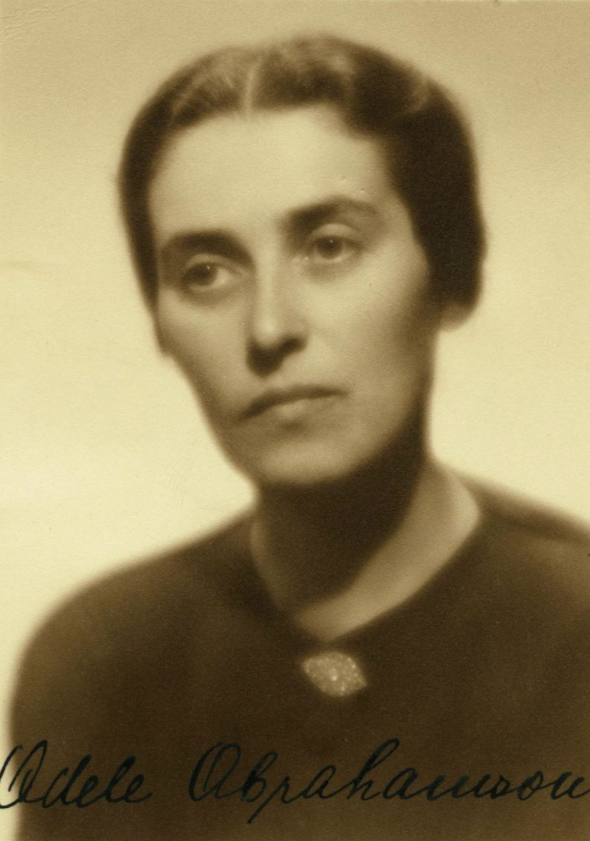 The Jewish woman ADÉLA ABRAHAMSONOVÁ was born on 26.02.1901. She was deported from Prague to Theresienstadt on 30.07.1942. Although she managed to survive there, on 01.02.1943 she was deported to #Auschwitz, where she was murdered