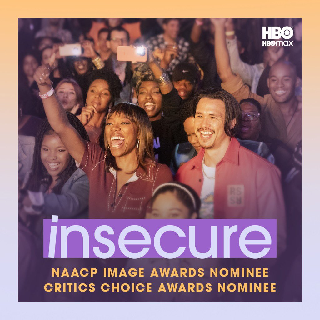 Congratulations to the #InsecureHBO team for receiving hella recognition this year!