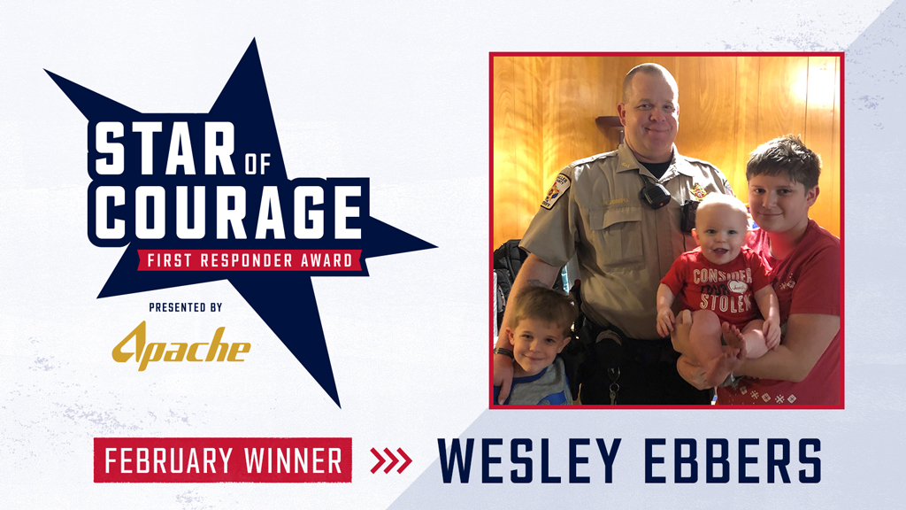 For his service in the U.S. Army, volunteer fire department and the Waller County Sheriff's Department, we recognize Deputy Wesley Ebbers as February's @ApacheCorp's Star of Courage award winner.