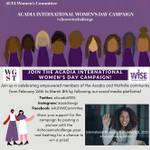 Image for the Tweet beginning: Help celebrate women by following