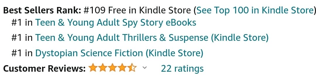 Always fun to see a book rise up the Amazon rankings with a promotion, even if it's very temporary. Thanks so much to everyone who has helped spread the word about Secrets of PEACE or picked up a copy for themselves.